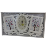Memory Melange Photo Frame and Clock Stand to Barnala