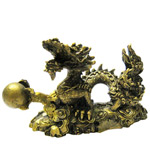 Fortunateness Feng-Shui Dragon with a Ball Amulet to Delhi