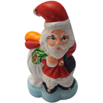 Pretty Porcelain Santa Showpiece to Akola