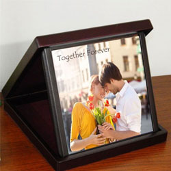 Magnificent Personalized Photo Tile in a Case to Amreli