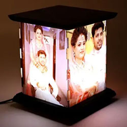Graceful Personalized Tower LED Lamp to Adra