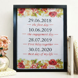 Exclusive Date Frame to Adra