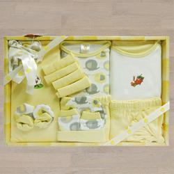 Remarkable Gift Set of Cotton Clothes for New Born Baby to Aligarh