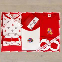 Exclusive New Born Babys 13pcs Clothing Gift Set to Aligarh