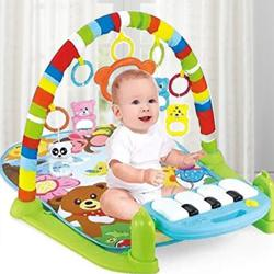Exciting Kick and Play Piano, Baby Gym and Fitness Rack to Aluva