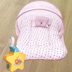 Baby Sleeping Bag, Mosquito Net Bed N Baby Sleep Projector to Aligarh
