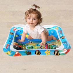 Marvelous Inflatable Water Tummy Time Playmat for Babies to Akurdi