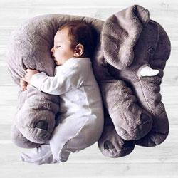 Wonderful Baby Elephant Pillow to Aligarh