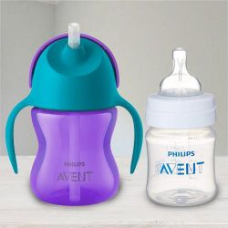 Amazing Philips Avent Straw Cup N Anti Colic Bottle to Akurdi