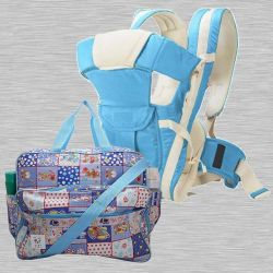 Marvelous Compartment Bag N Baby Carrier Cum Kangaroo Bag<br><br> to Ahmedabad
