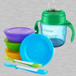 Amazing Bowls Set N Philips Avent Spout Cup to Abohar