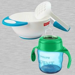 Amazing Fisher-Price Bowl Set N Philips Avent Spout Cup to Adoni