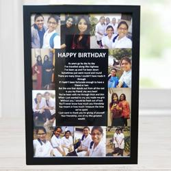 Wonderful Personalized Collage Frame to Abohar