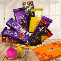 Exquisite Gift Hamper Basket for Big Celebration to Ariyalur