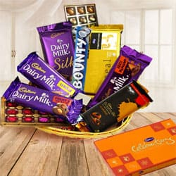 Exquisite Gift Hamper Basket for Big Celebration to Ambalamugal