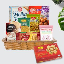 Lip-smacking Gourmet Food Family Hamper to Bhubaneswar