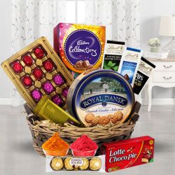 Festival Basket Full of Chocolates to Ahmedabad