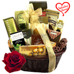 Festival Basket Full of Chocolates to Bangalore