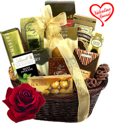Festival Basket Full of Chocolates to Faridabad