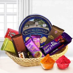 Graceful Festive Carnival Chocolate Hamper to Baharampur
