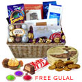 Wonderful Party Special Chocolate Hamper Basket to Ludhiana