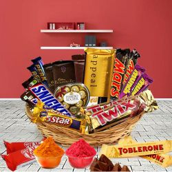 Chocolate Hamper Crisp on the Outside to Indore