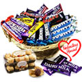 Wonderful Forever Chocolates Gift Hamper to Gurgaon