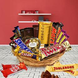Chocolate Hamper Crisp on the Outside to Adoni