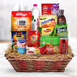 Exclusive Breakfast Gift Hamper to Amadalavalasa