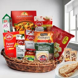 Delicious Desi Style North Indian Lunch Gift Hamper  to Adugodi