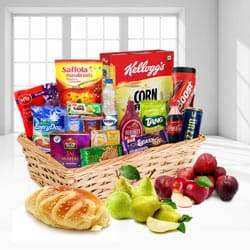 Exciting Sweet and Savory Food Breakfast Hamper to Asansol