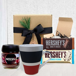 Classic Coffee Connoisseur Gift Basket for Dad<br> to Ashok Nagar