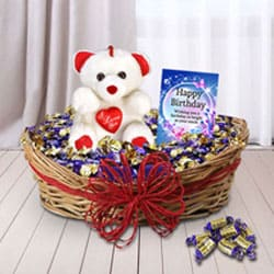 Surprise Birthday Gift Basket for Her<br> to Ambabari
