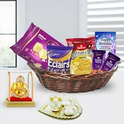 Affordable Gift Basket for Her Birthday <br> to Bahauti