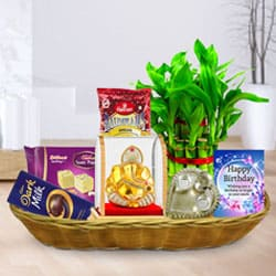 Ultimate Pick Gift Basket for His Birthday to Ashok Nagar