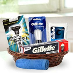 Charming Gift Basket for Men to Adugodi