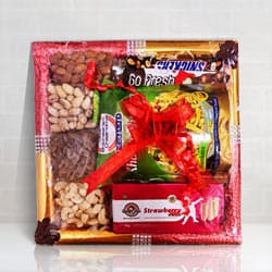 Sweet n Sour Gift Tray to Aizwal