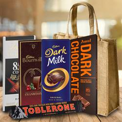 Amazing Dark Chocolates Gift Hamper to Belgaum