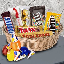 Enticing Imported Chocolates Hamper to Amreli