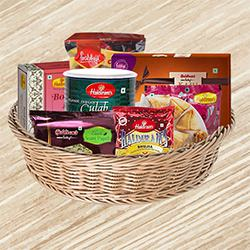 Haldirams Assortment Gift Basket to Aligarh