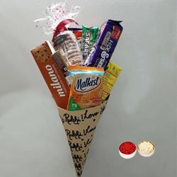 Special Cone Hamper to Barauipur
