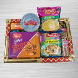 Exclusive Food N Assortments Hamper to Adra