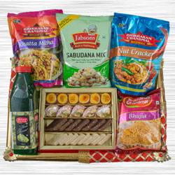 Exquisite Food N Assortments Hamper to Allahabad