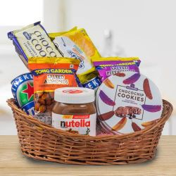 Creative Christmas Celebration Gifts Basket to Adugodi