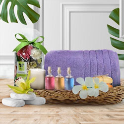 Aromatic Spa Gift Basket for Mothers Day to Alwar