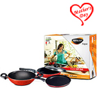 Nirlep Aspa 3 Pc Non-Stick Gift Set to Varanasi