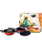 Nirlep Aspa 4pc non stick gift set to Areraj