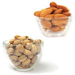 Delectable Almonds And Pistachio to Rakhi_to_newzealand.asp
