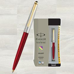 Parker galaxy standard ball pen to Ashok Nagar