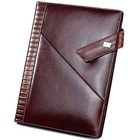 Genuine Leather Brown Colored Writing Cum Conference Pad from Leather Talk to Bellary